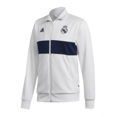 Adidas Real Madrid 3S Track Top M DX8708 football jersey