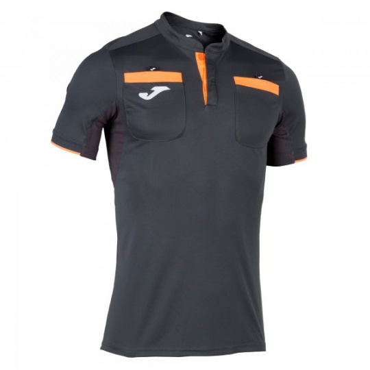 REFEREE SHORT SLEEVE T-SHIRT ANTHRACITE
