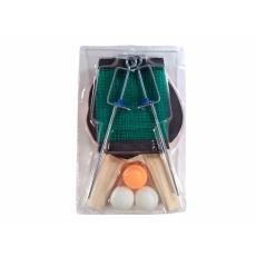 rakety na stolný tenis sada 2ks + loptičky