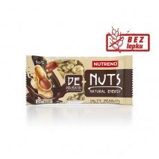 tyčinka Nutrend DeNuts slané arašidy v horkej čokoláde 40g