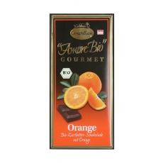 čokoláda hořká s pomerančem Liebhart´s 100g