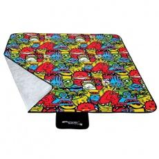Picnic blanket Spokey Monsters 150x180cm 835244