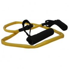 Fitness rubber with handles SMJ GB-S2109 Heavy yellow