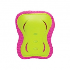 Set of protectors Nils Extreme H320 pink-lime size XL
