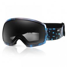 okuliare lyžiarske SPOKEY RADIUM tmavo modré