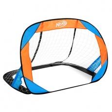 HASBRO BUCKLER Samorozkládací fotbalová branka 2 ks, zn. NERF modro-oranžová