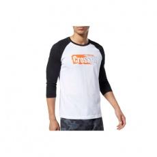 Reebok CrossFit Sticker Rip Raglan Tee M EC1488