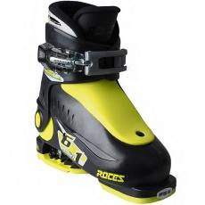 Roces Idea Up ski boots black-lime Jr 450490 18