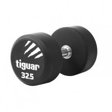 Dumbbell tiguar PU 32.5 kg TI-WHPU0325