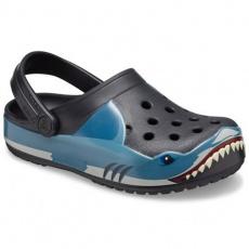 Crocs Fun Lab Shark Band Clg K Jr 206271 001 shoes