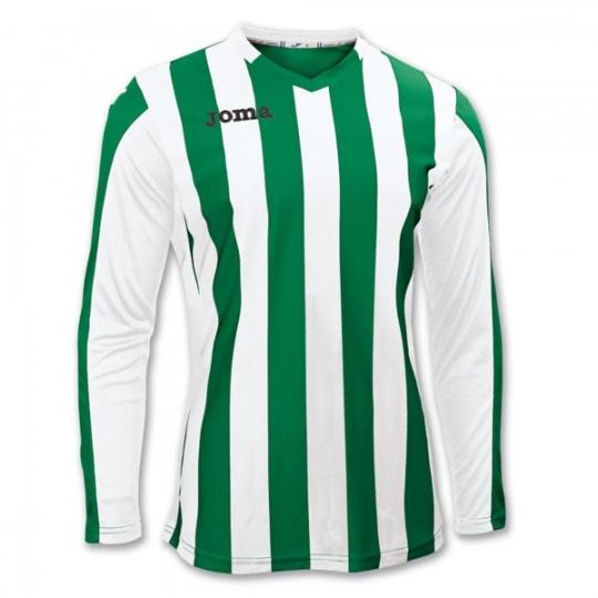 T-SHIRT COPA GREEN-WHITE L/S