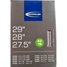 """duša SCHWALBE AV19 27.5""""x2.00-28 """"x1 1/2 (50-584 / 40-635) AV / 40mm"""
