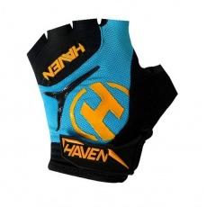rukavice HAVEN DEMO SHORT modro / oranžové