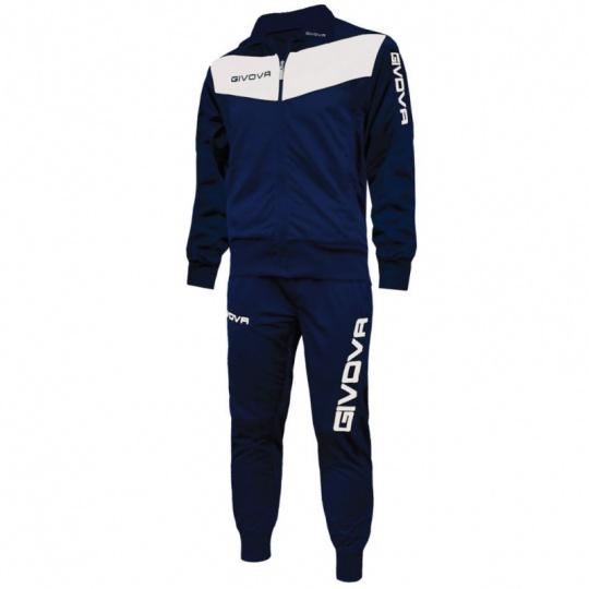 Tracksuit Givova Visa navy blue white 0403
