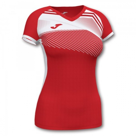 SUPERNOVA II T-SHIRT RED-WHITE S/S