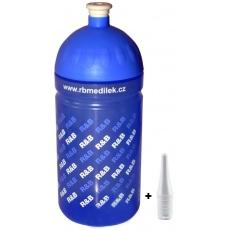 lahev R+B 0,5 l RB modrá