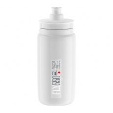 fľaša ELITE FLY 20 biela / sivé logo 550 ml