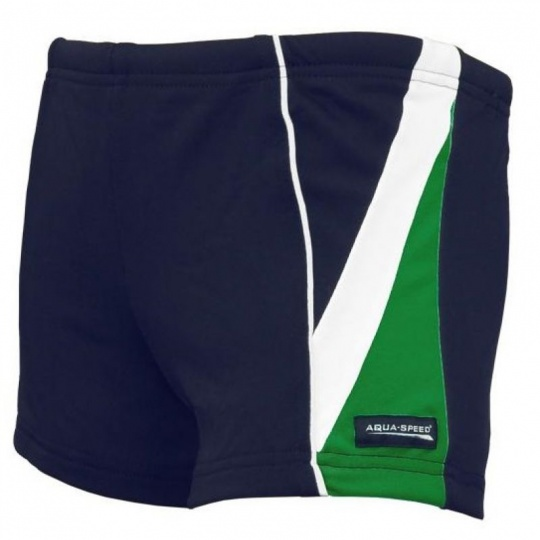 Aqua-Speed Diego JR swimming shorts navy blue-green 04 2340
