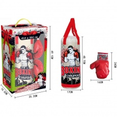 Boxing bag set, gloves Jr Enero 1017600
