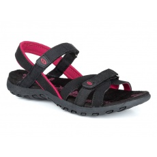 topánky dámske LOAP compreso sandále čierno / ružové