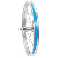 """zapletené koleso 16 """"predné Zinok oceľový náboj vr. velovložky"""