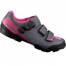 boty Shimano ME3 černo-růžové