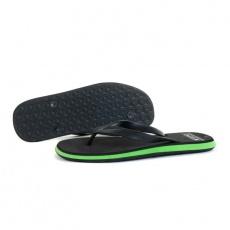 4F M H4L21-KLM004 Deep Black slippers