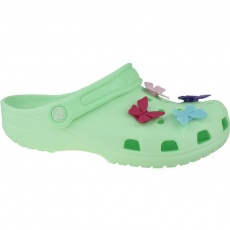 Crocs Classic Butterfly Charm Clog Jr 206179-3TI slippers
