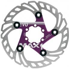 brzdový kotúč max1 Evo 160 mm fialový