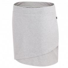 Skirt 4F W H4L19-SPUD002 27M gray melange