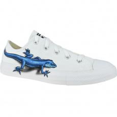 Converse Lizards Chuck Taylor All Star Low Kids białe 32