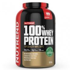 100% Whey Protein 2,25 kg NEW jahoda + Šejker ZADARMO