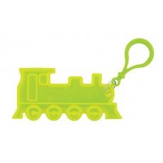 prívesok reflexná vlak žltý