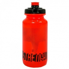 Fľaša Strenght 500 ml, červená
