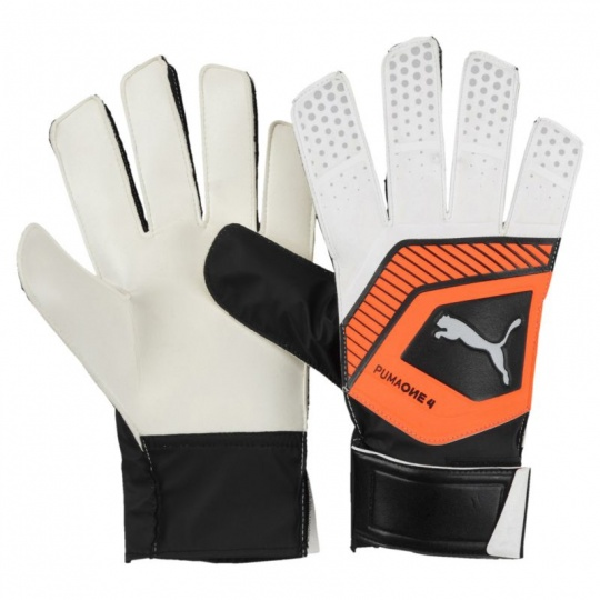 Puma One Grip 4 Goalkeeper gloves Puma White-Shoc 041476 01