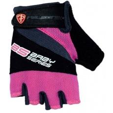 rukavice detské Poledník BS ružové