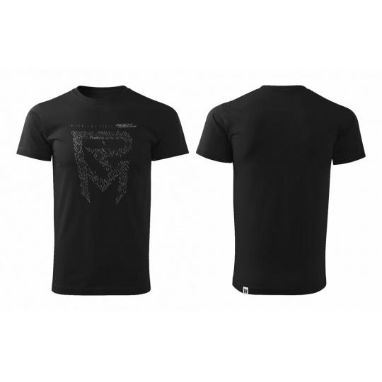 tričko ROCK MACHINE Kristýna Havlická Signature černé vel.M