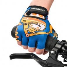 Cycling gloves Meteor Teddy Builder Junior 26184-26185-26186