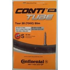 """duša Continental Tour 28 Slim 28 """"(28-622 / 37-622) FV / 42mm"""