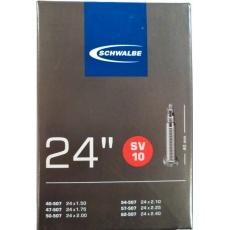 """duša SCHWALBE SV10 24 """"x1.50-2.40 (40 / 62-507) FV / 40mm"""