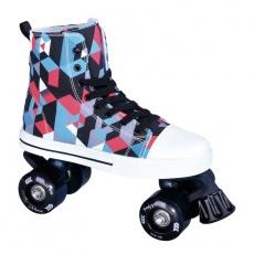 Roller skates La Sports Canvas JR 14120SBK # 40