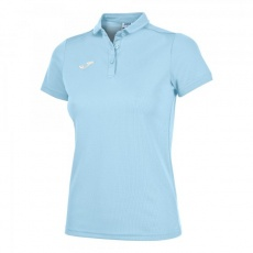 HOBBY WOMEN POLO SHIRT SKY BLUE S/S