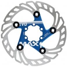 brzdový kotúč max1 Evo 160 mm modrý