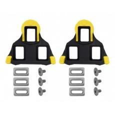 kufre SHIMANO cestná SPD-SL SM-SH11 čierno / žlté s vôľou