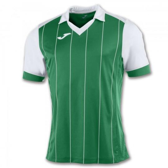 T-SHIRT GRADA GREEN-WHITE  S/S