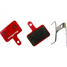 brzdové destičky SunRace DPS10 pro Shimano Deore, Alivio, Acera, Tektro
