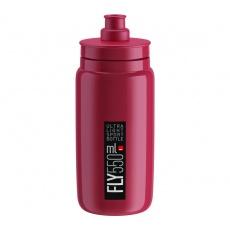 fľaša ELITE FLY 20 fialová / čierne logo 550 ml