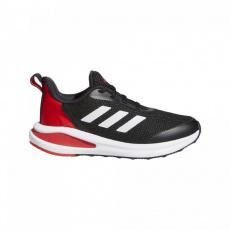 ADIDAS FortaRun core black/white/vivid red Čierna