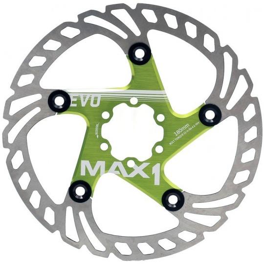 brzdový kotouč MAX1 Evo 180 mm zelený