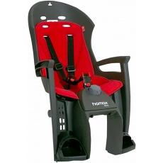 sedačka zadná HAMAX Siesta plus šedo / červená, uchytenie na nosič